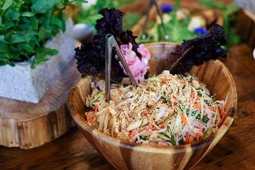Healing Retreat Fresh Food